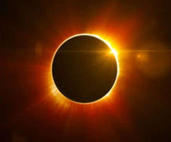खण्डग्रास सूर्यग्रहण रविवार, 21, जून,2020